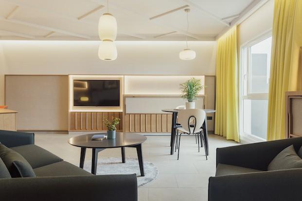 Iluminación de las habitaciones Roca Nivaria Gran Hotel.