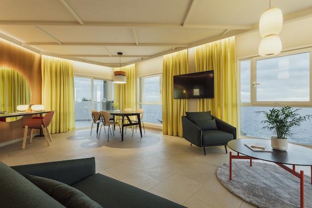 Vistas de las habitaciones Roca Nivaria Gran Hotel.