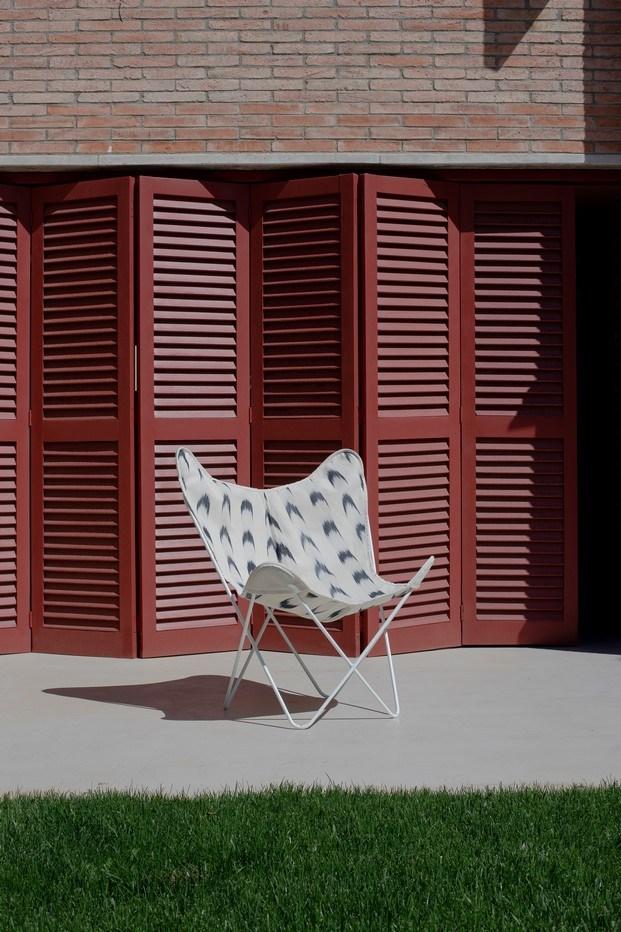 muebles tapizados silla bkf por teixits vicens diariodesign