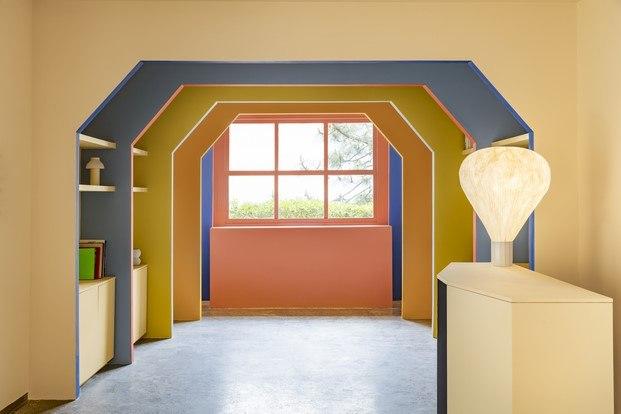 villa noailles arcos de colores diariodesign