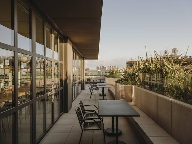 frigicoll terraza con vistas