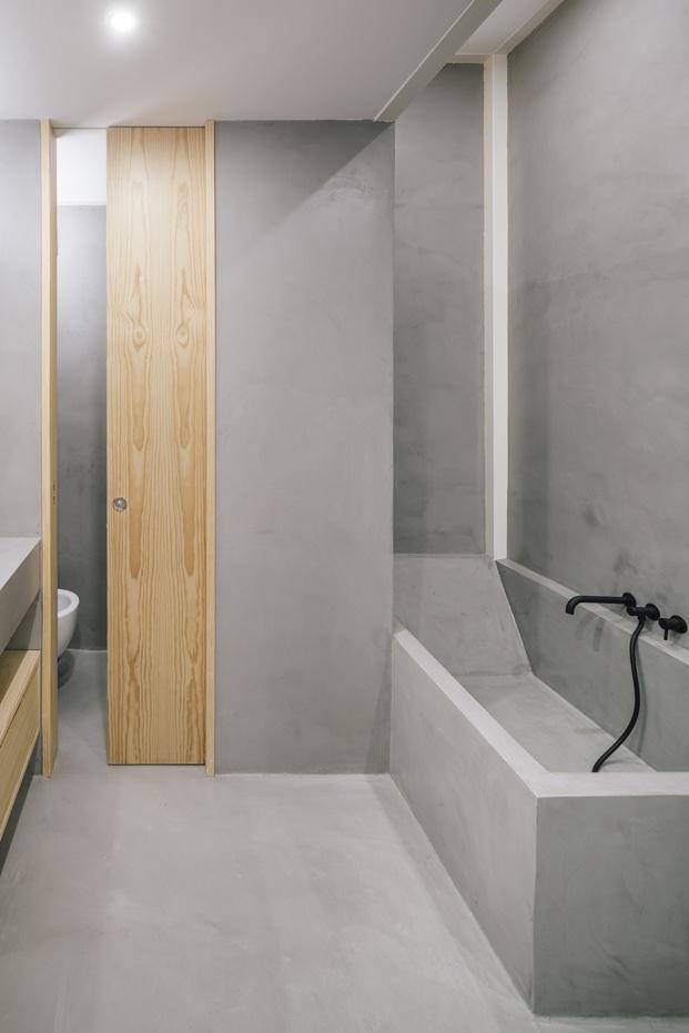 baño microcemento loft en madrid zooco estudio diariodesign