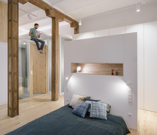 apartamento en madrid zooco estudio