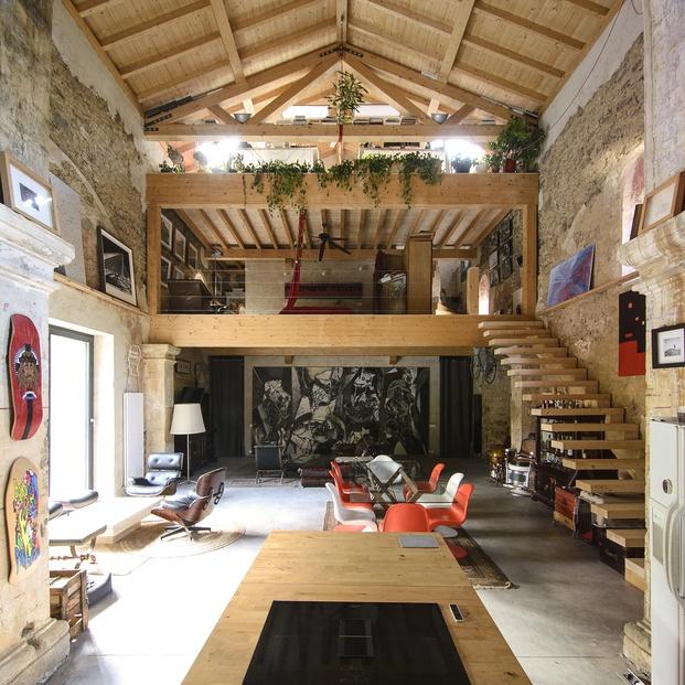 La Iglesia de Tas. Reforma casa en una ermita