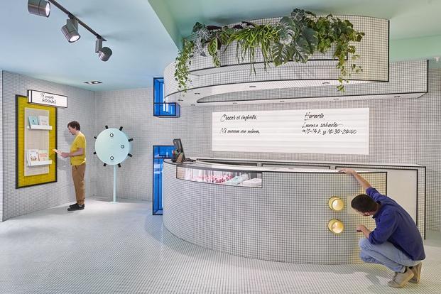 mostrador flagship store rubio valencia diariodesign