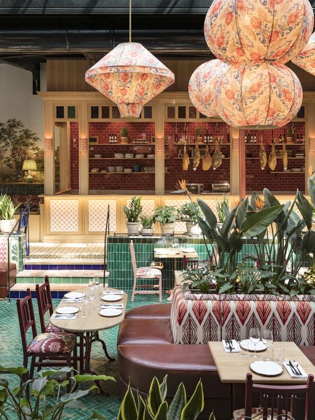 Restaurante La Gare de París. Proyecto de Laura González