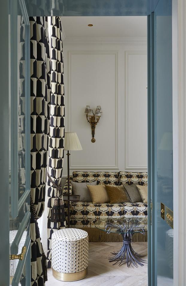 Hotel Le Relais Christine. Proyecto de Laura González © Didier Delmas