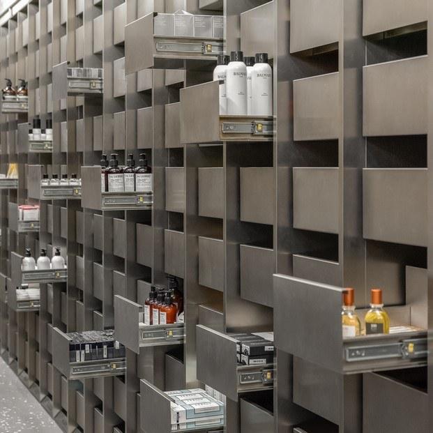 cajones de acero harmay tienda cosméticos hong kong diariodesign