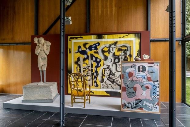 cuadros de le corbusier exposición mon univers diariodesign