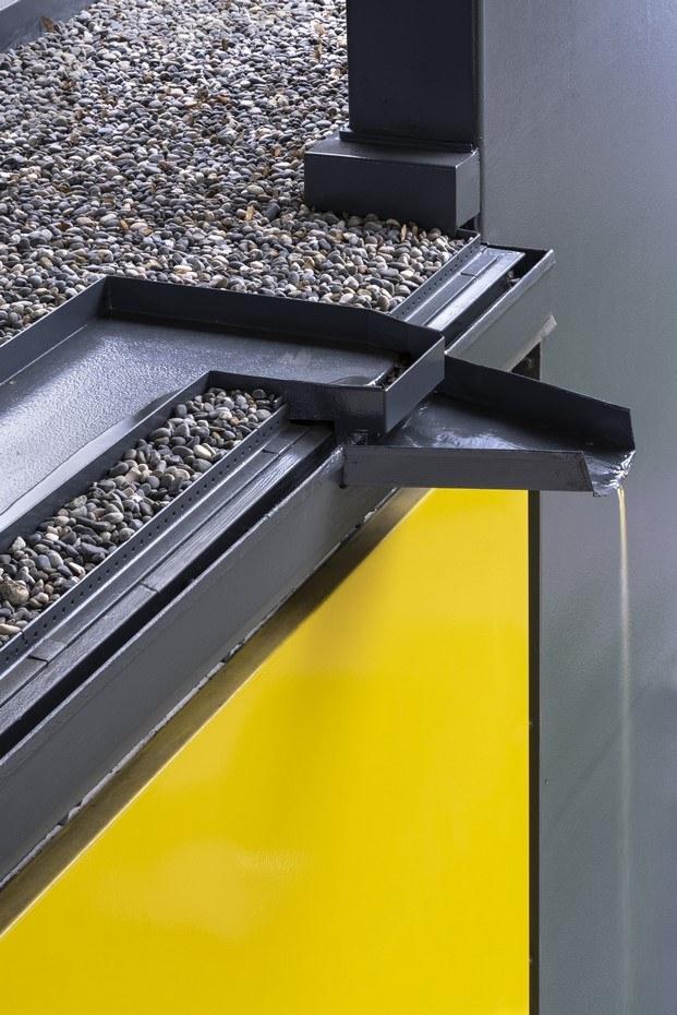 detalle constructivo filtración terraza
