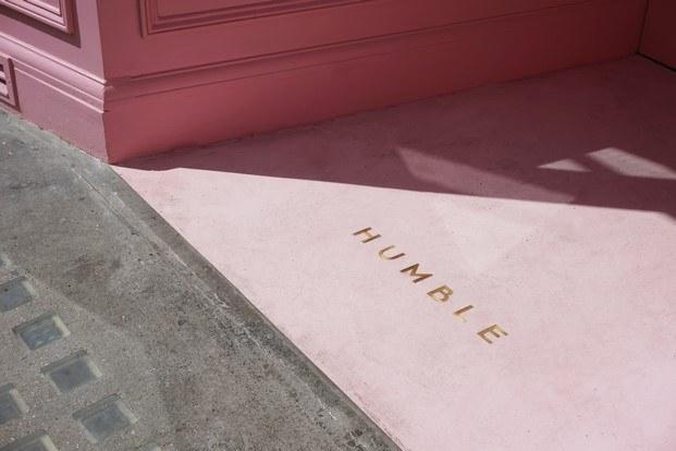 humble entrada rosa diariodesign