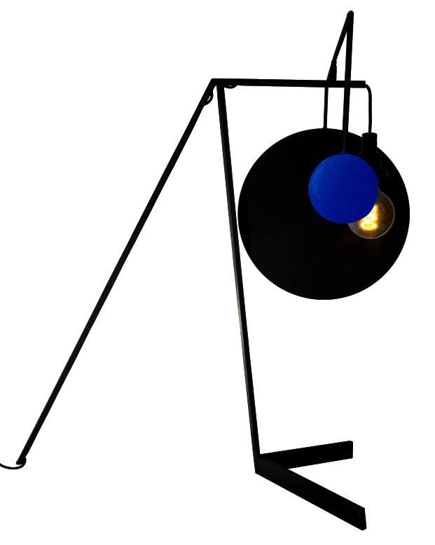 lámpara bubblehaus nuria fuster azul negro