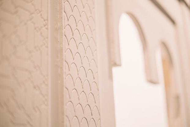puerta relieve arco crear/sin/prisa