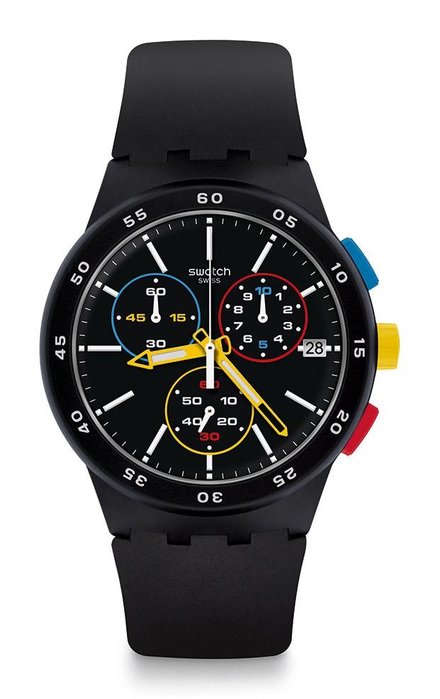 reloj swatch colores primarios bauhaus diariodesign