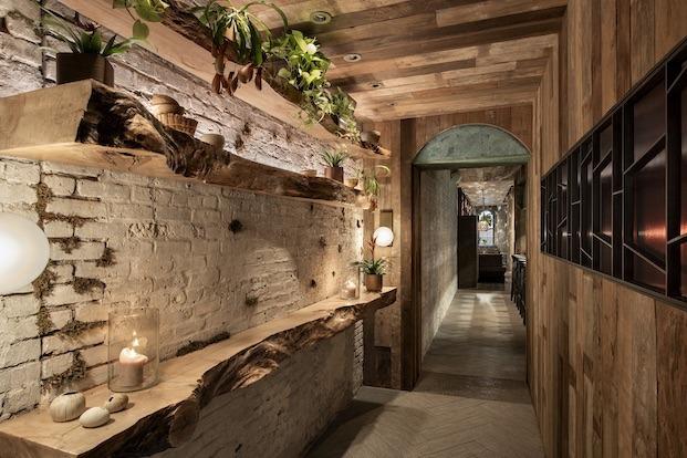 Tunel de madera wayan diariodesign