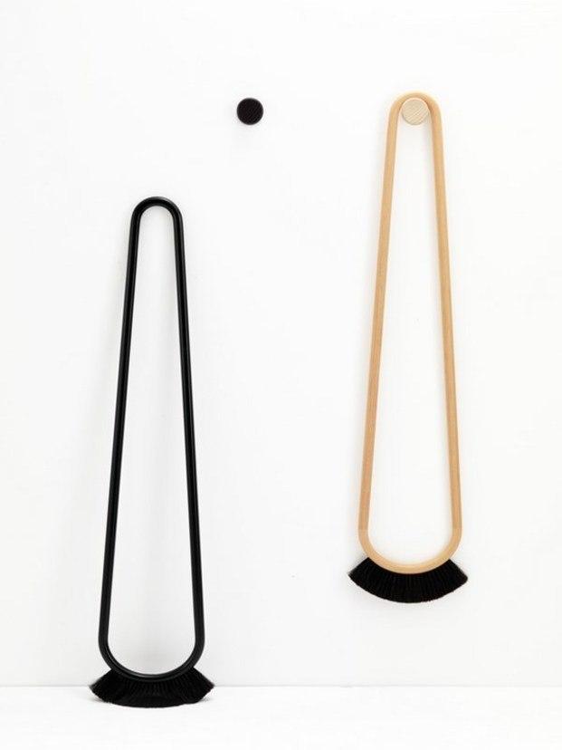 Escobas redondas de diseño contemporáneo