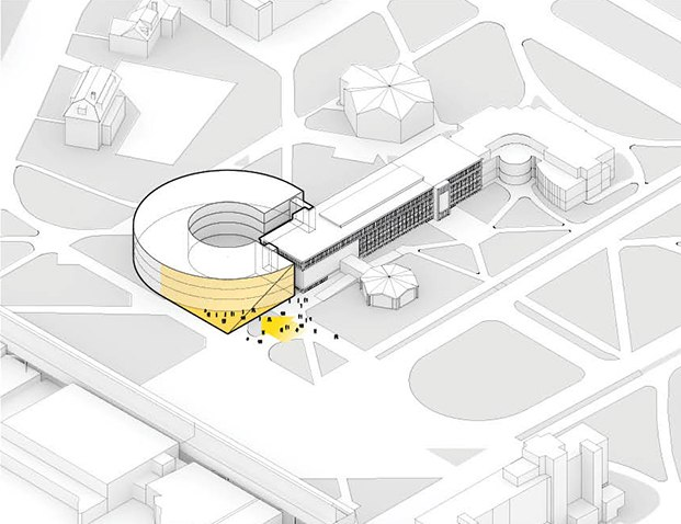 big isom umass isenberg business innovation hub diariodesign esquema
