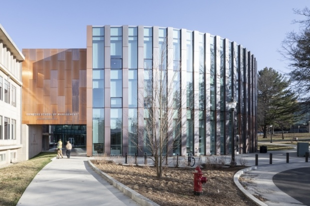 big isom umass isenberg business innovation hub laurian ghinitoiu diariodesign fachada edificio de cobre