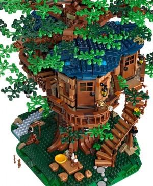 casa del árbol de lego diariodesign