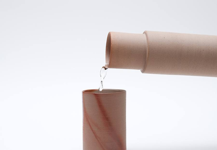 agua jarra hiiro cerámica japonesa diariodesign