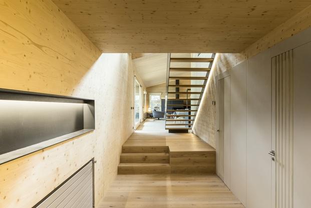 Casa en La Cerdanya. Interior de madera