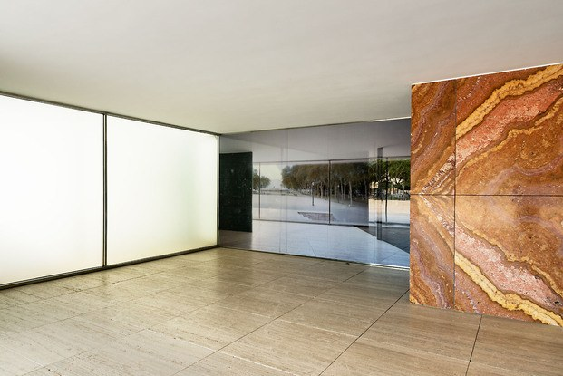 Fotografía Michael Wessely Pabellón Mies Van Der Rohe Barcelona exposición