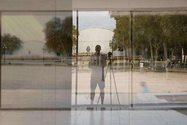 Fotografía Michael Wessely Pabellón Mies Van Der Rohe Barcelona
