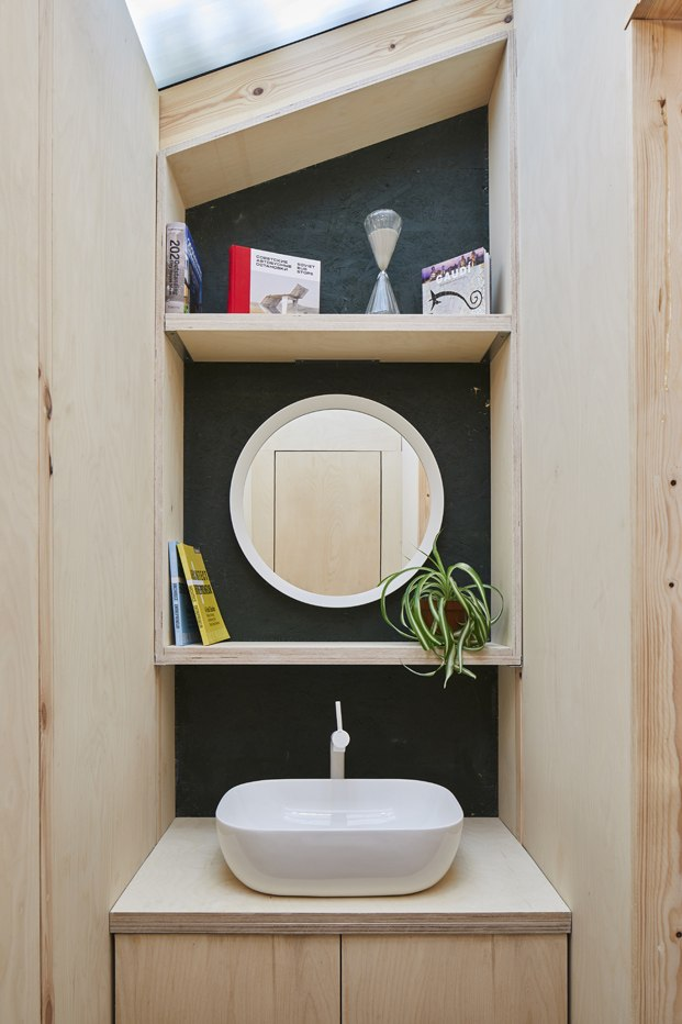lavabo de madera cobertizo en londres
