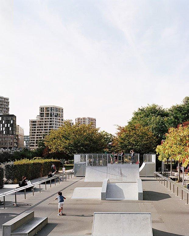 parque para skaters en parís