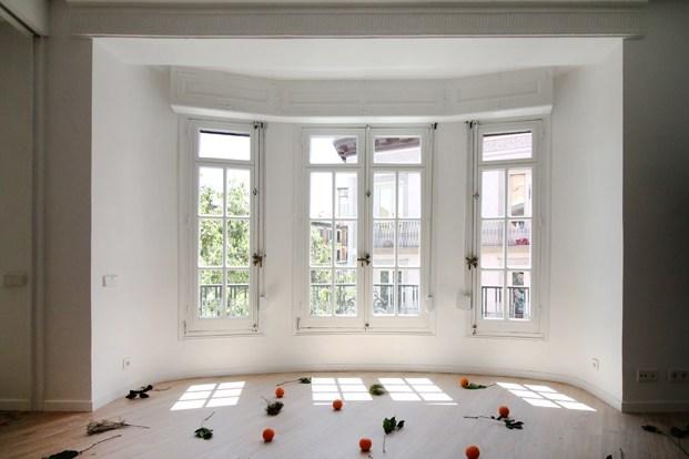 ventanal blanco