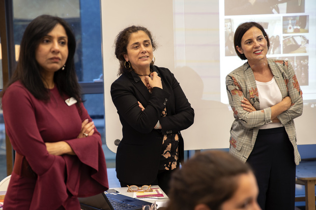 Women on Office Design España - Harsha Kotak, Soledad Berbegal y Gracia Cardona