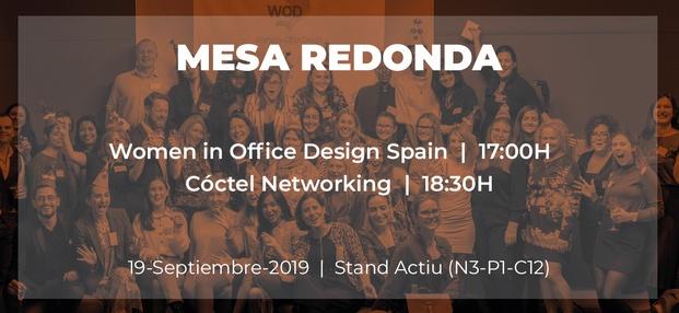 Presentación Women on Office Design España en Valencia