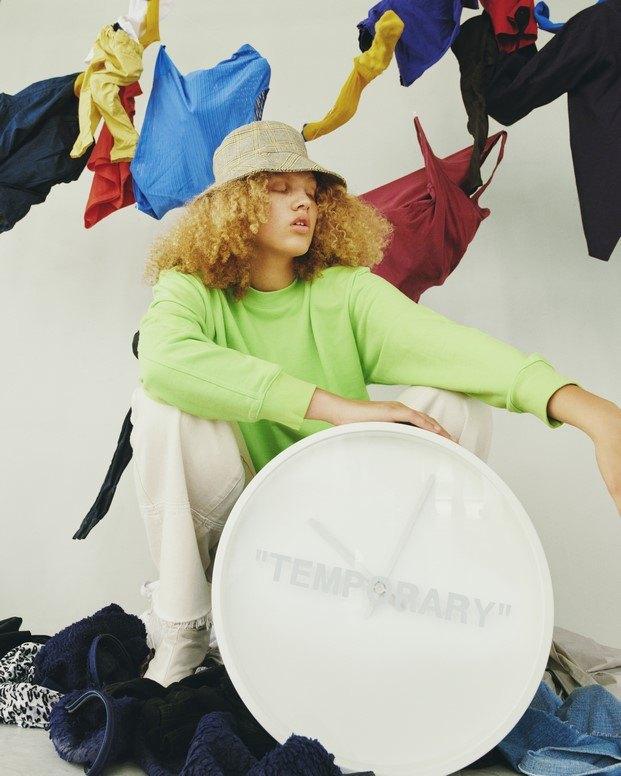 Reloj Temporary #MARKERAD IKEA® c/o Virgil Abloh™