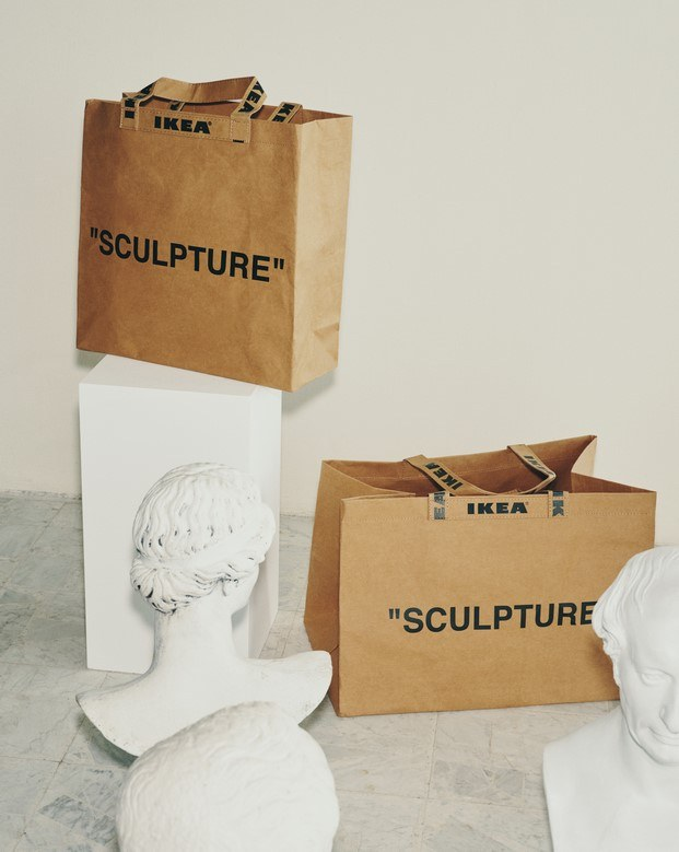 Bolsa Sculpture #MARKERAD IKEA® c/o Virgil Abloh™