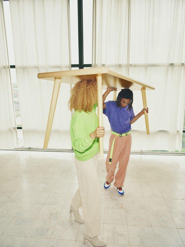 Mesa de madera #MARKERAD IKEA® c/o Virgil Abloh™