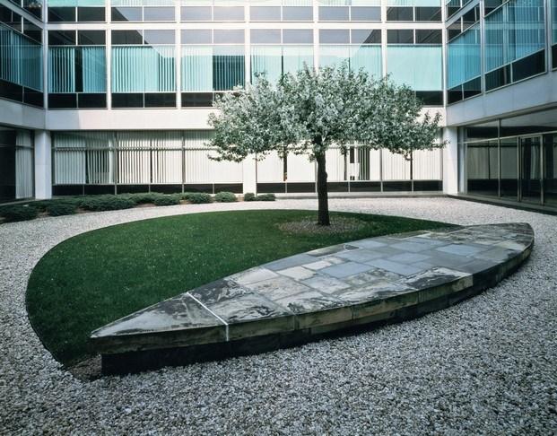 jardines para Connecticut General Life Insurance Company de Isamu Noguchi