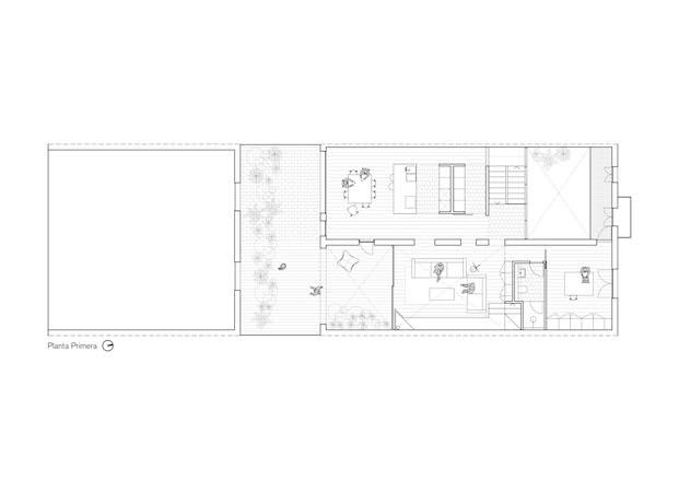 Plano 1º planta