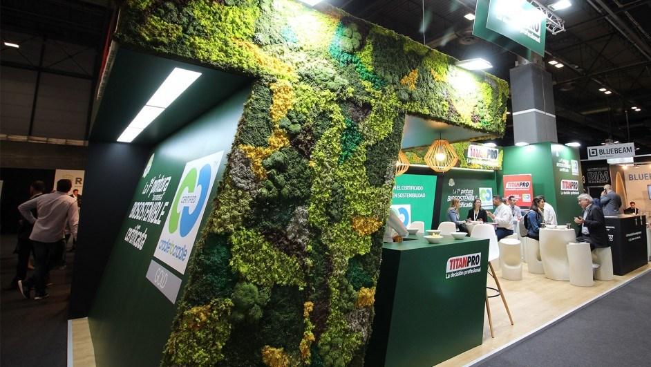 titan pintura biosostenible stand rebuild diariodesign