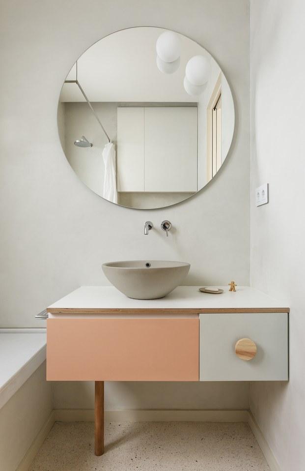 Vivienda estilo nórdico y minimalista. Interiorstas Acabadomate. Baños