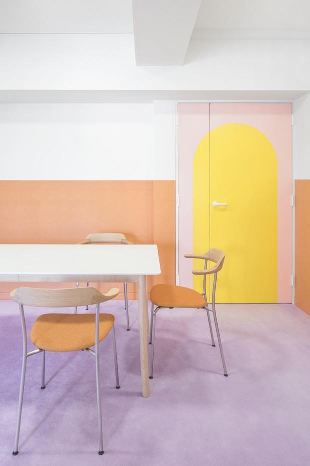 Casa colores pastel Adam Nathaniel Furman proyecto Nagatacho Tokio