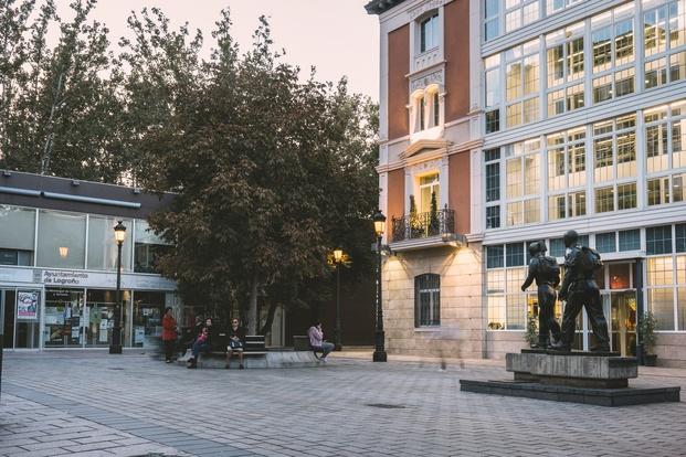 Logroño. Concurso Arquitectura Efimera Concentrico