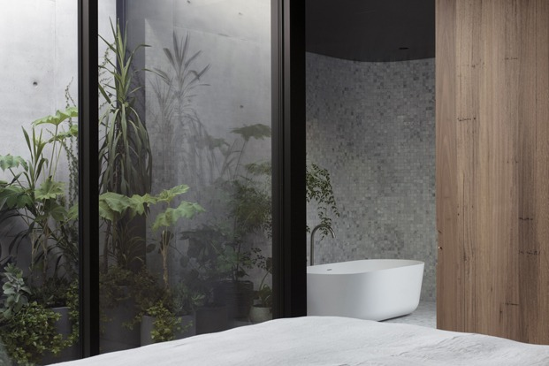 baño casa santuario en australia