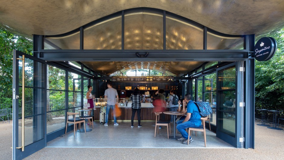 serpentine coffee house en hyde park