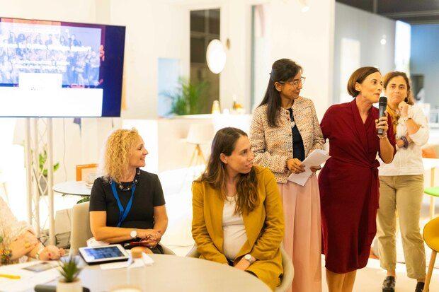 Mujeres Diseño España colectivo Women in Office Design WOD