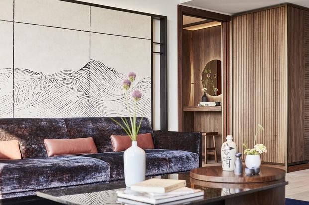 Nobu Hotel Barcelona. Salón suite