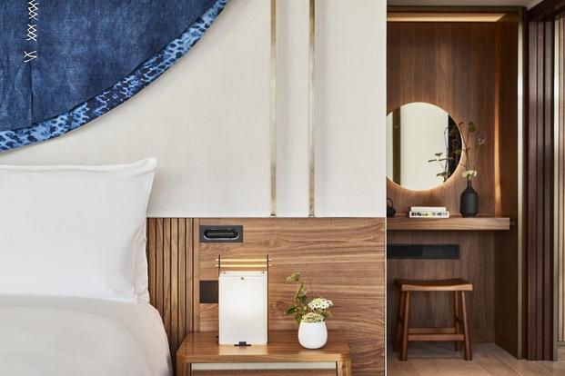 Nobu Hotel Barcelona. Habitación Cama