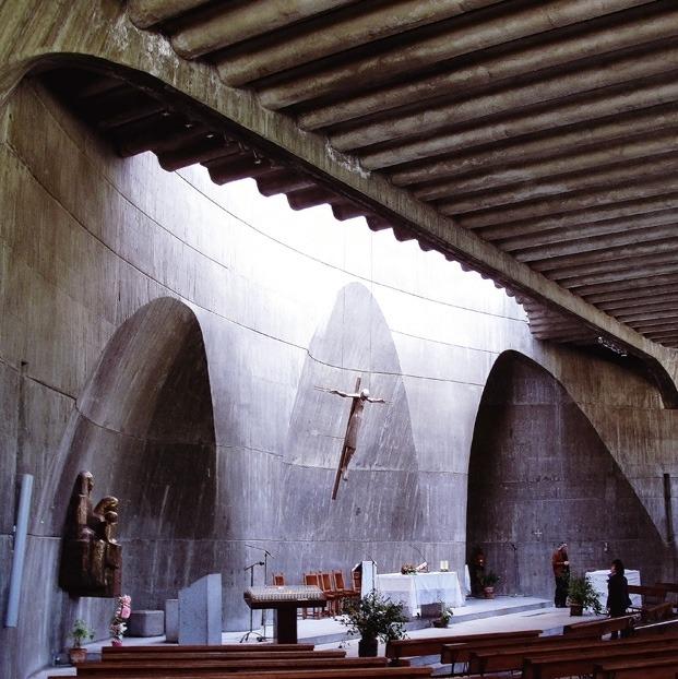 iglesia miguel fisac arquitectura de madrid