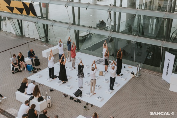 Clase de yoga by Sancal