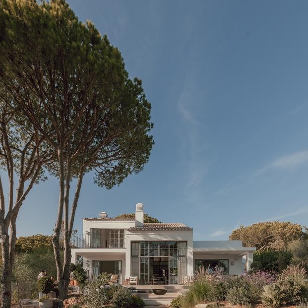 White & Kaki Quinta en Algarve. Reforma