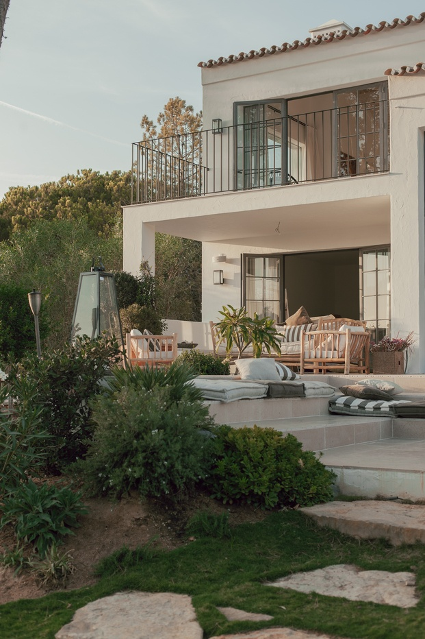 White & Kaki Quinta en Algarve. Reforma casa